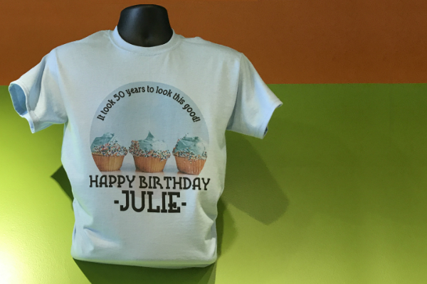 Custom Birthday Party t-shirts Big Frog Solon