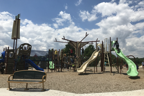 Heritage Hill Playground Boettler Park Green Ohio