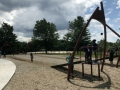 Zipline at Boettler Park Green Ohio