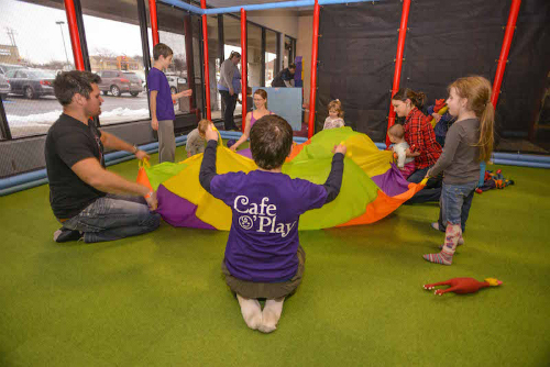 Interactive Classes Cafe O'Play