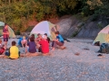 Camping on the Beach Camp Fitch YMCA