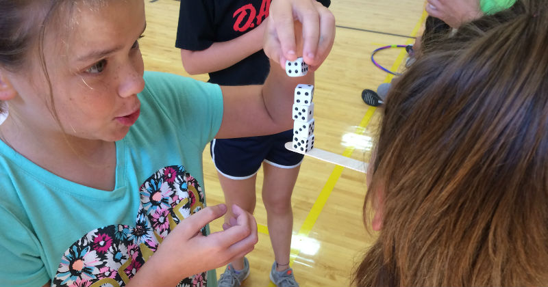 Playing Games at Summer Camp Lead Ohio