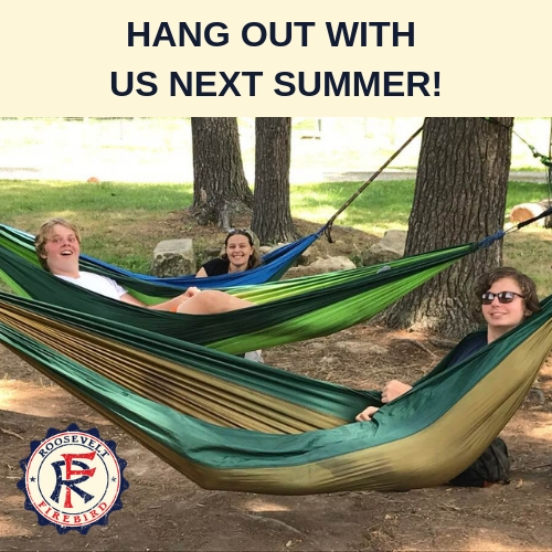 Hang Out at Camp Roosevelt Firebird Summer Camp Ohio