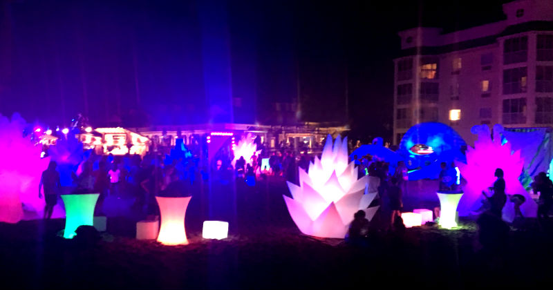 Cedar Point Nights Glow Party