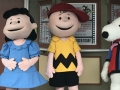 Charlie Brown and Snoopy Characters at Cedar Point