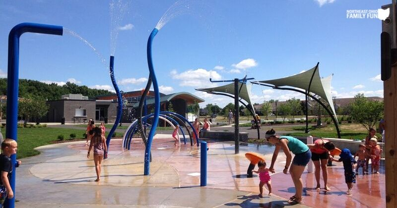 Splash-pad-at-Central-Park-in-Green-Ohio