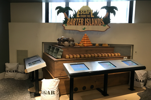 Barter Island Exhibit Cleveland Money Museum