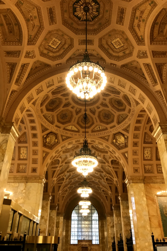 Beautiful Architecture at Cleveland Federal Reserve