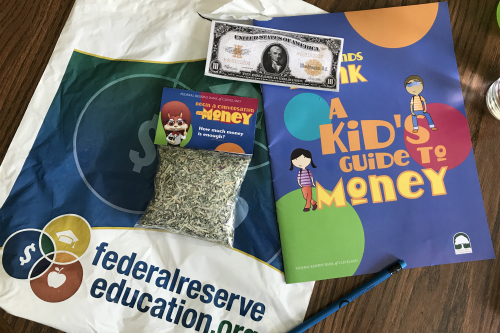 Free Goodie Bag at Cleveland Money Museum