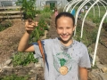 Farming at Crown Point Ecology Center Camp Ohio