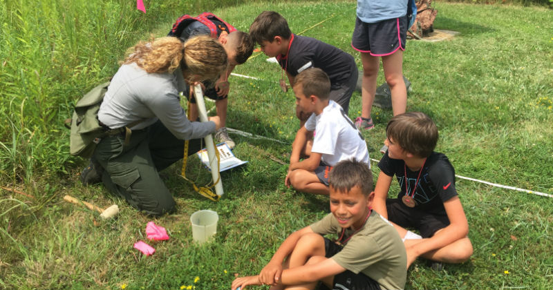 Junior Ranger Summer Camp Ohio Cuyahoga Valley Environmental Education Center