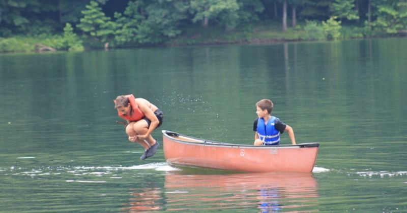 At the Lake Summer Camp Ohio Falcon Camp