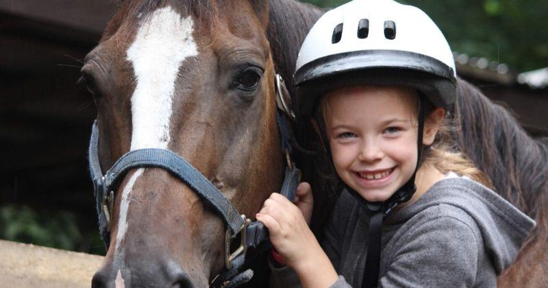 HOrseback Riding at Summer Camp Ohio Falcon Camp