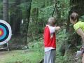 Archery at Falcon Camp Ohio