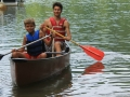Learning to Canoe Summer Camp Ohio Falcon Camp