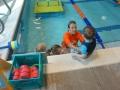 Toddler and Teacher Goldfish