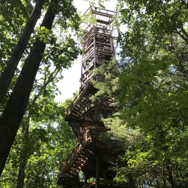 Tower at Holden Arboretum Ohio