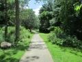 Paved Walking Trail at Hubbard Valley Park Medina Ohio