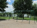 Swing set at Hubbard Valley Park Medina Ohio