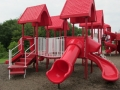 Toddler Play Are at KidStation Playground Stow Ohio