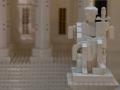 LEGO statue at Supreme Court