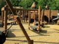 Wooden Playground in Medina Ohio