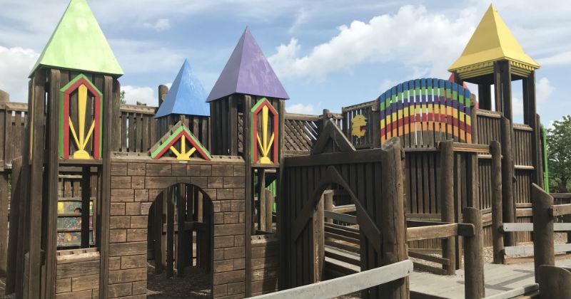 Castle Playground Louisville Ohio