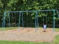 Swings at Middleton Park Hudson Ohio