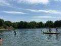 Sunning Dock at Munroe Falls