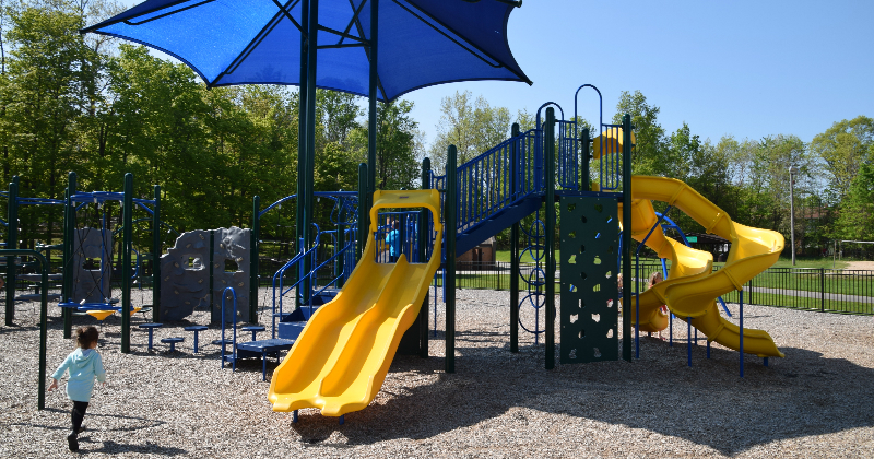 North Royalton Memorial Park Playground Ohio