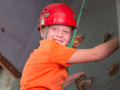 Rock Climbing at Camp Red Oak Ohio