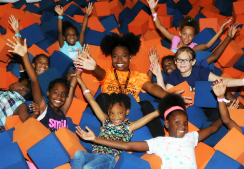 Birthday Parties at Sky Zone Cleveland Ohio