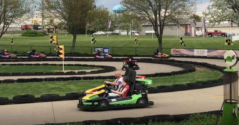 Go Karts Sluggers and Putters Canal Fulton Ohio