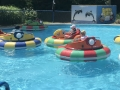 Bumper Boats at Sluggers and Putters