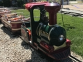 Toddler Train Ride at Sluggers and Putters