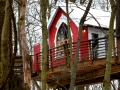 Little Red Treehouse in Ohio