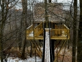 Tin Shed Treehouse in Ohio