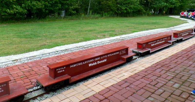 Northeastern Ohio Live Steamers Public Train Rides