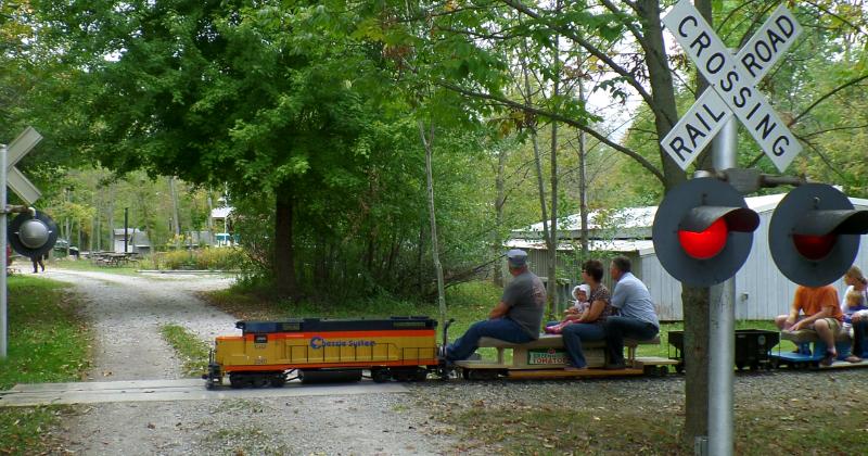 Train Rides at Lester Rail Trail Media Ohio