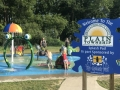 Splash pad at Veterans Park Plain Township Ohio