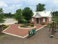 Restrooms and Parking Lot Veterans Way Park