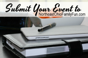 Submit Your Event to be Featured on Northeast Ohio Family Fun