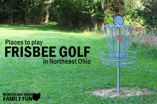 Frisbee Disc Golf Courses in Northeast Ohio