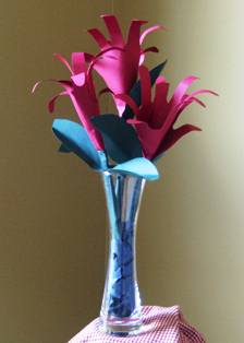 Handprint Flower Bouquet – Perfect for Mother's Day
