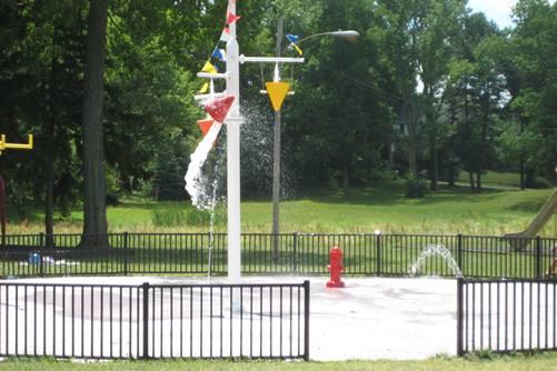 Edgewood Park Sprayground