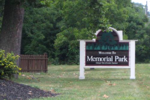 Memorial Park in Tallmadge Ohio