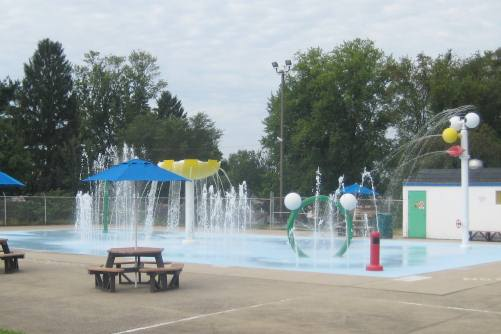 Knights Field Park Sprayground