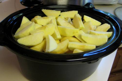 Step 1 - Simple Homemade Crockpot Applesauce Recipe