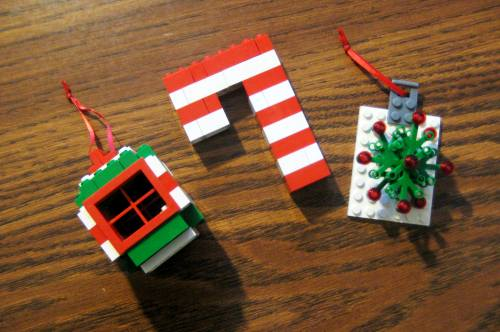 Lego Christmas Ornaments