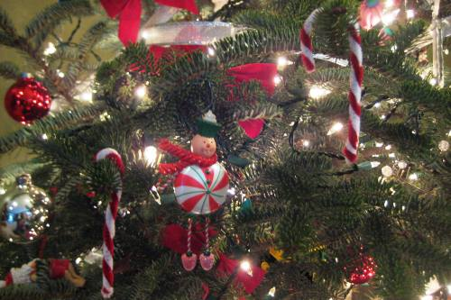 homemade pipe cleaner candy cane christmas ornaments - Candy Christmas Ornaments